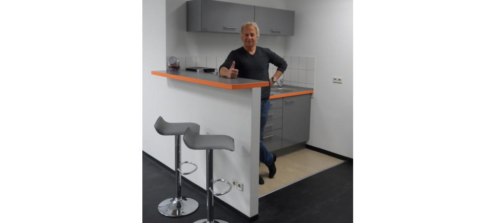 die neue k che weptronic. Black Bedroom Furniture Sets. Home Design Ideas